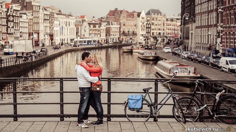 Романтическая фотосессия в Амстердаме