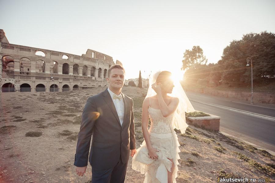 Свадебное путешествие в Рим