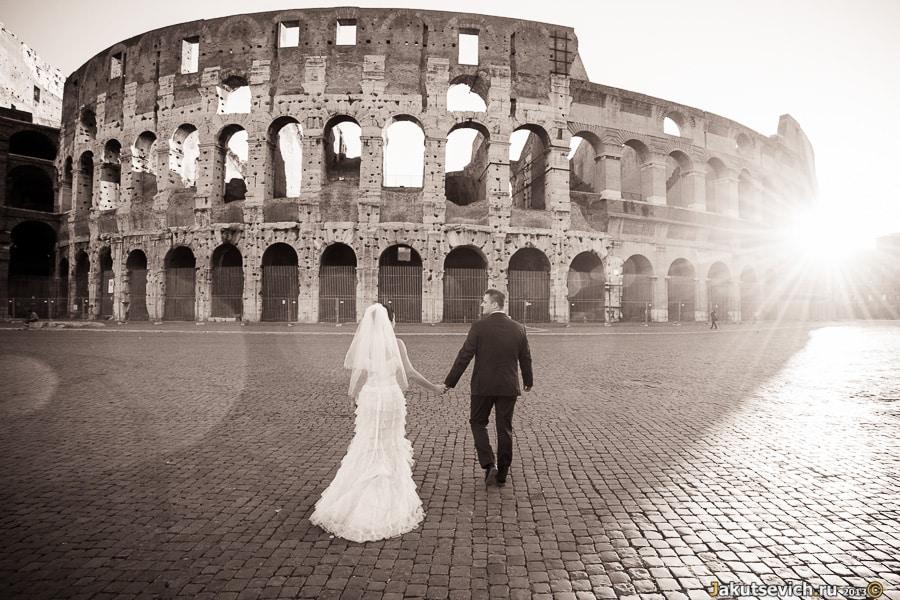 путешествие в Рим
