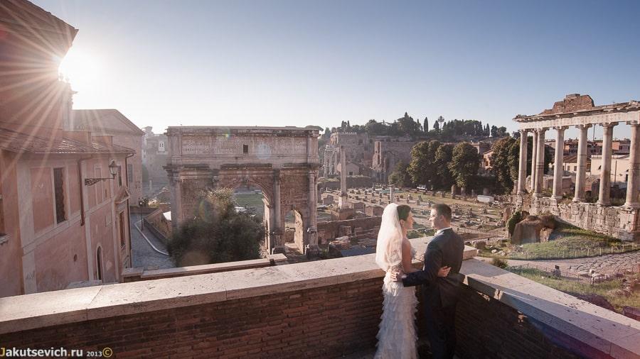 Римский Форум утром