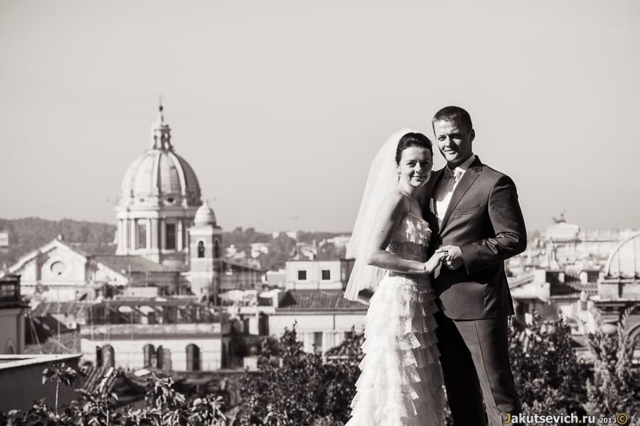 свадебное путешествие в Италию