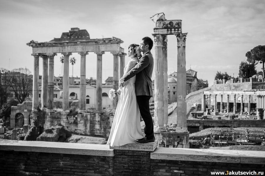 Фотограф в Италии и Риме