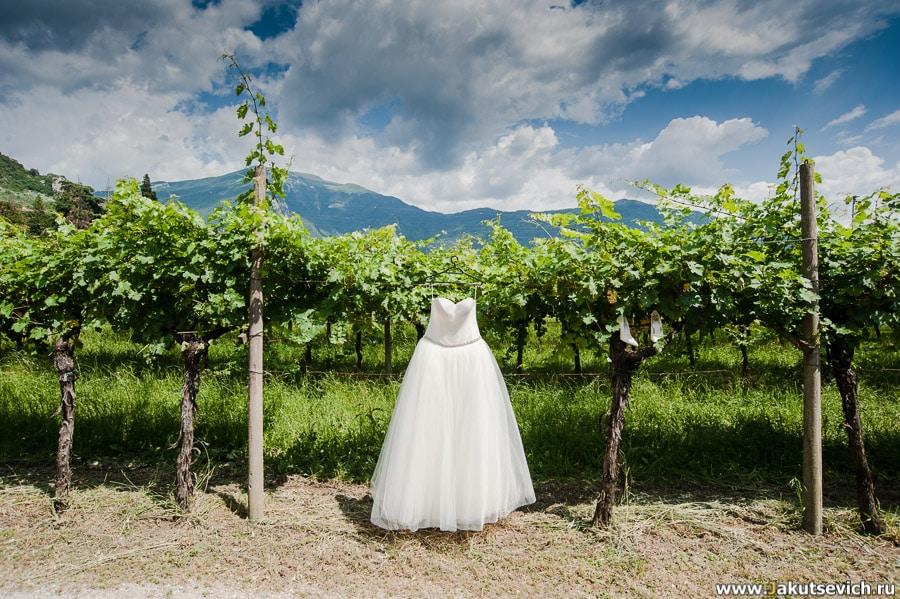 Свадебное платье Гарда Италия