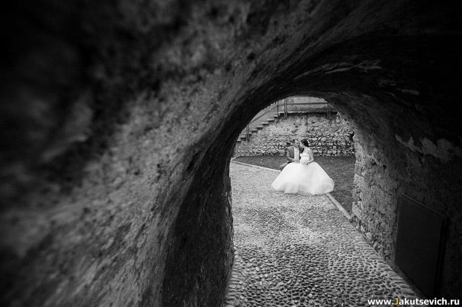 Свадебная фотосессия на озере Гарда