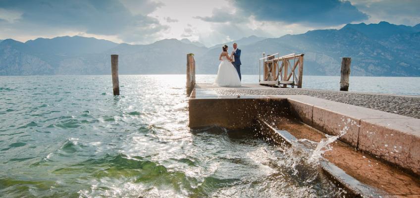 Свадьба на озере Гарда в июне для Светланы и Сергея