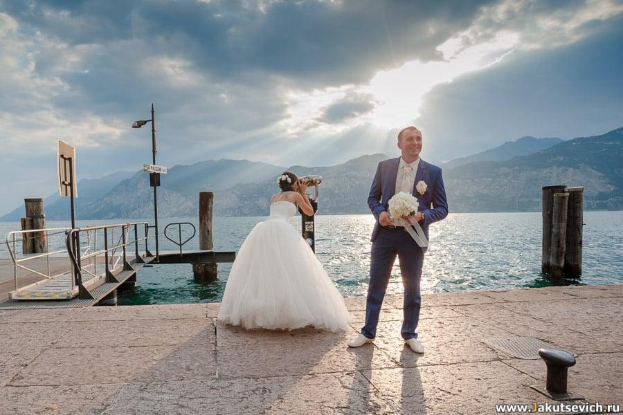 Озеро Альпы фото