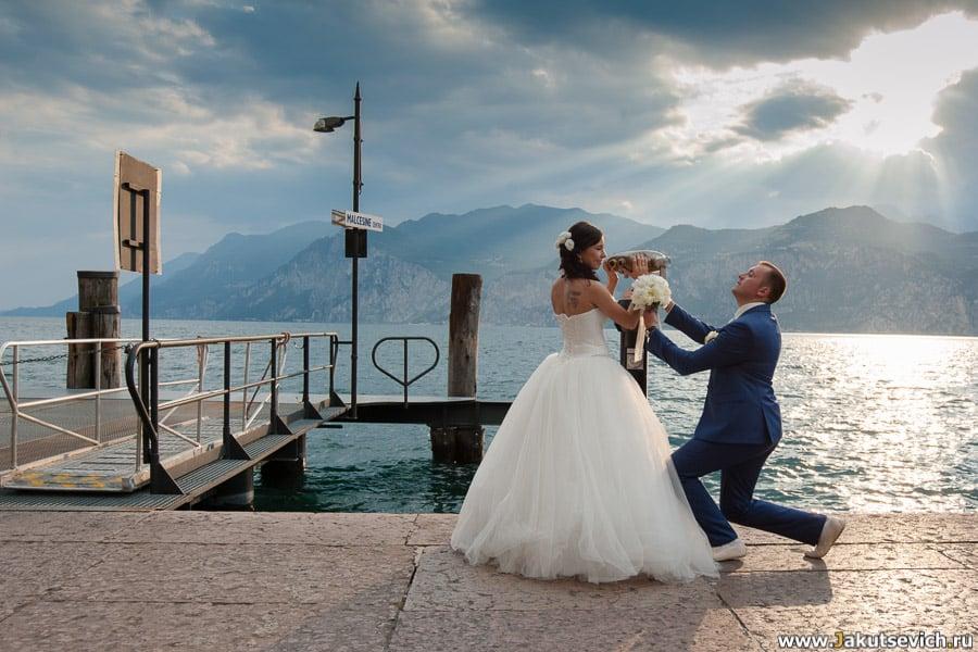Фотограф в Италии