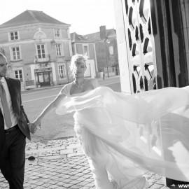 Свадьба в замке Chateau de Challain в мае Вероники и Анзора