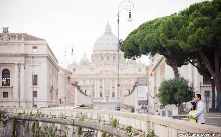 Фото в Ватикане