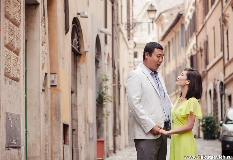 Годовщина свадьбы в Риме