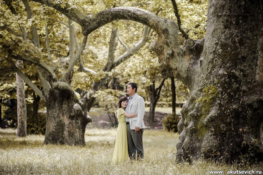 Годовщина свадьбы: фотосессия в Риме в мае для Янг и Мин
