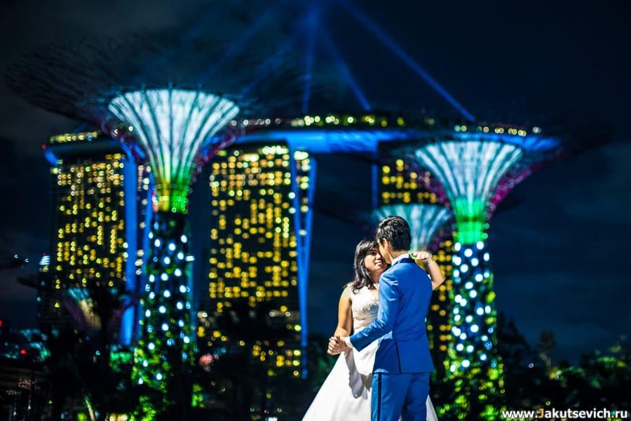 Свадьба в Сингапуре фото