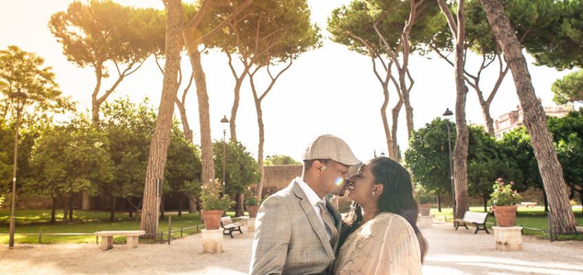Годовщина свадьбы в Риме: Шаланда и Камаль 10 лет вместе