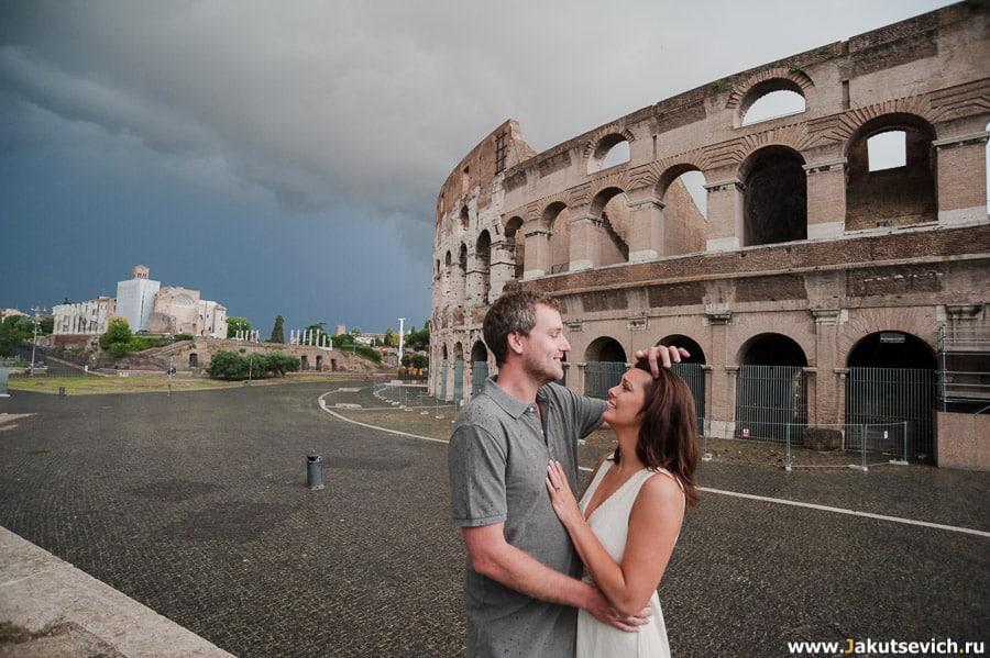 Какая погода в Риме в июле