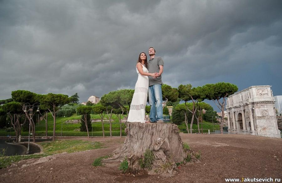 Прогулка по Риму в июле