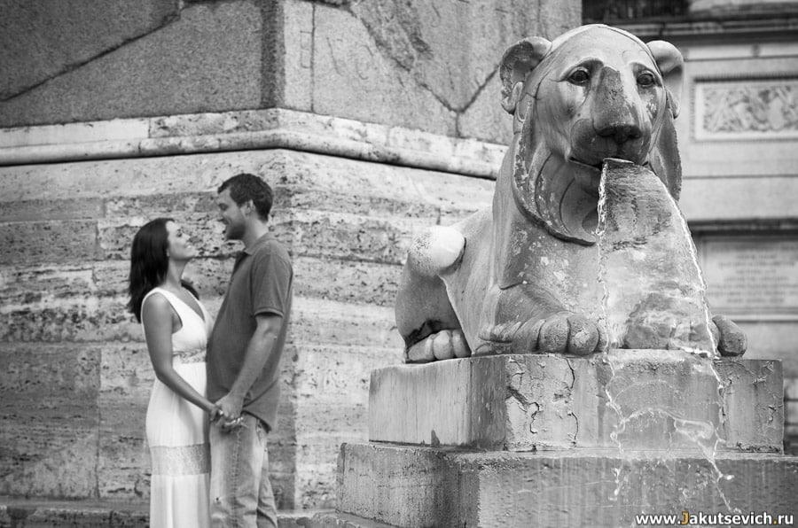 Рим летом прогулка