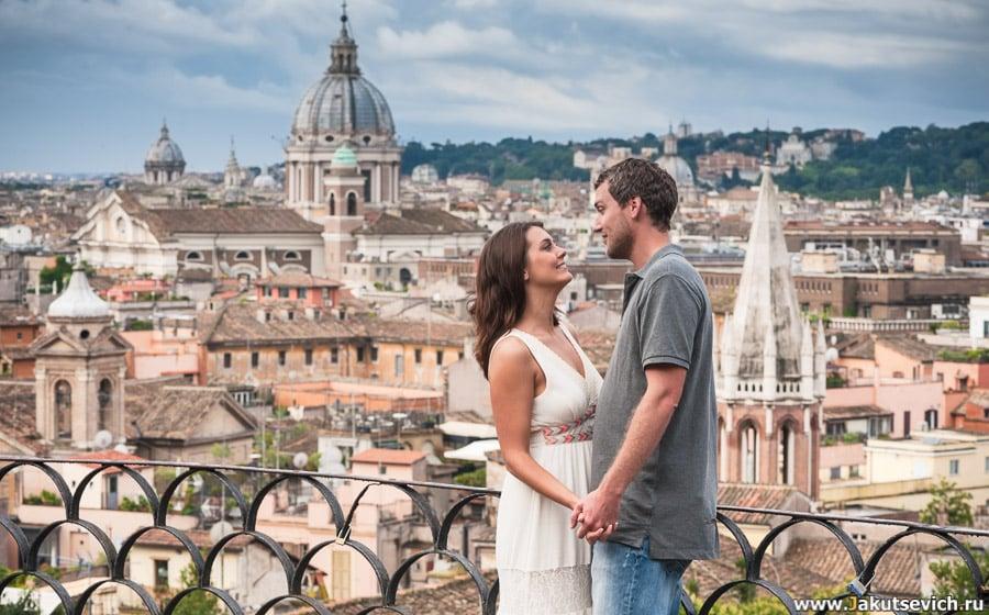 Фотогаф в Риме