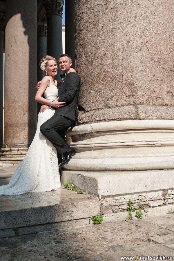 Фотограф на свадьбу в Риме
