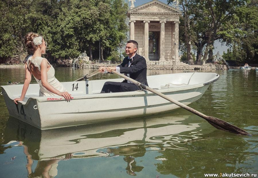 Романтические фотографии Рима