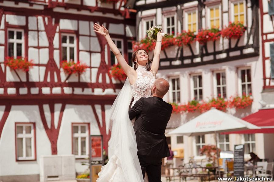 Свадьба в Германии в августе Марины и Бартека