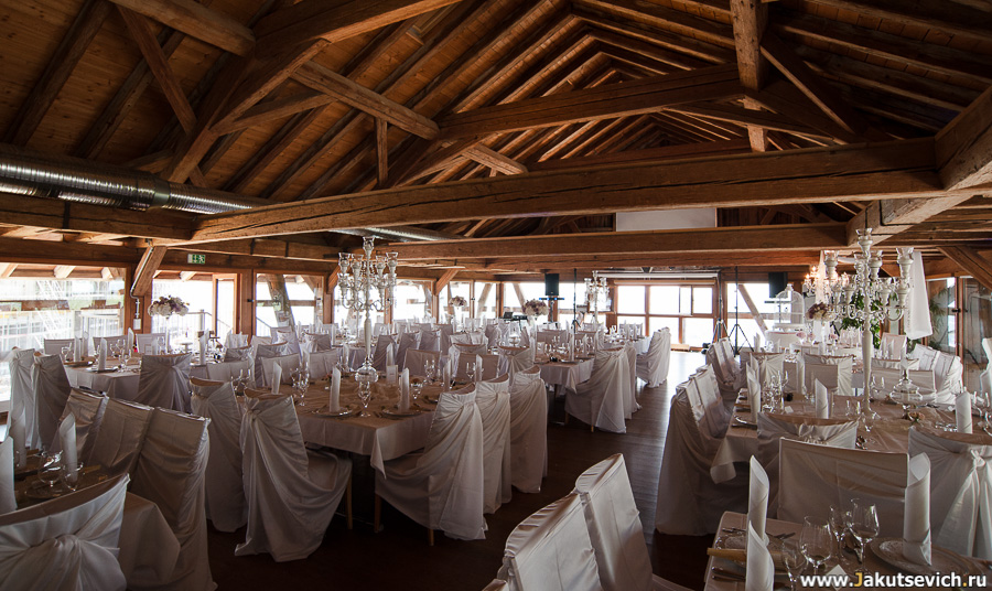 Ресторан на свадьбу в Германии