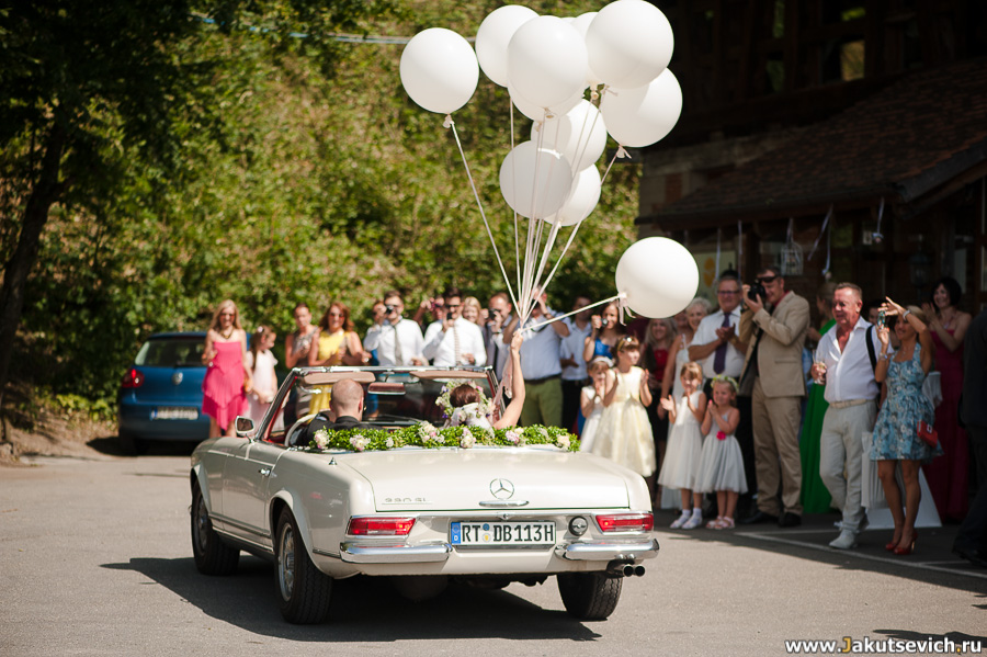 Фотограф на свадьбу в Германии