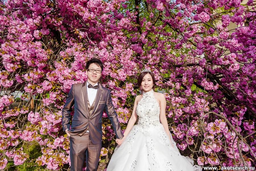 Фотосессия в Праге в свадебных нарядах