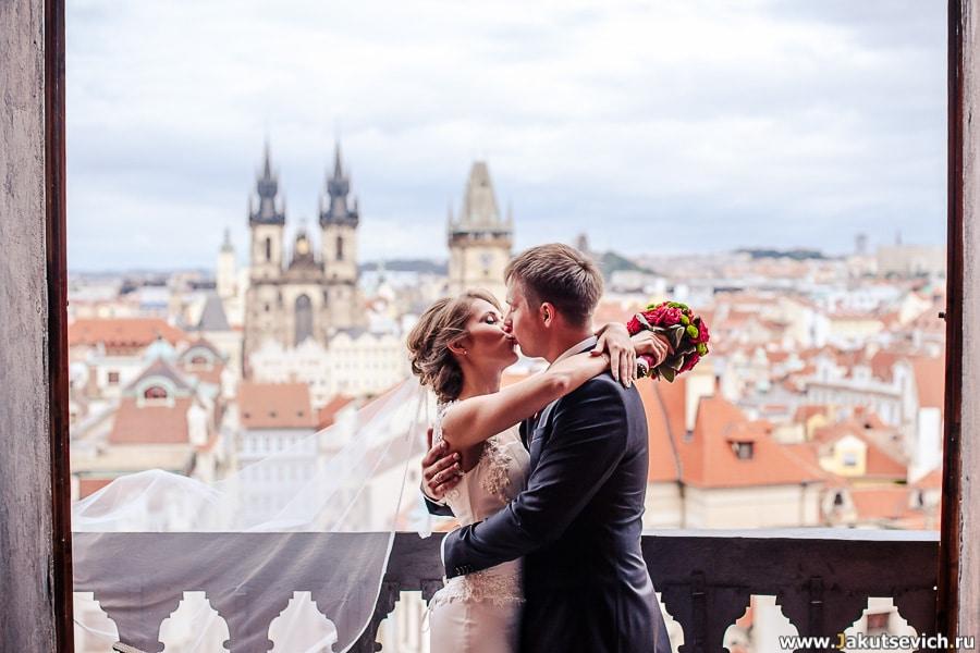 Фотограф на свадьбу в Праге