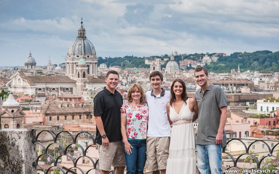 Фотосессия в Италии