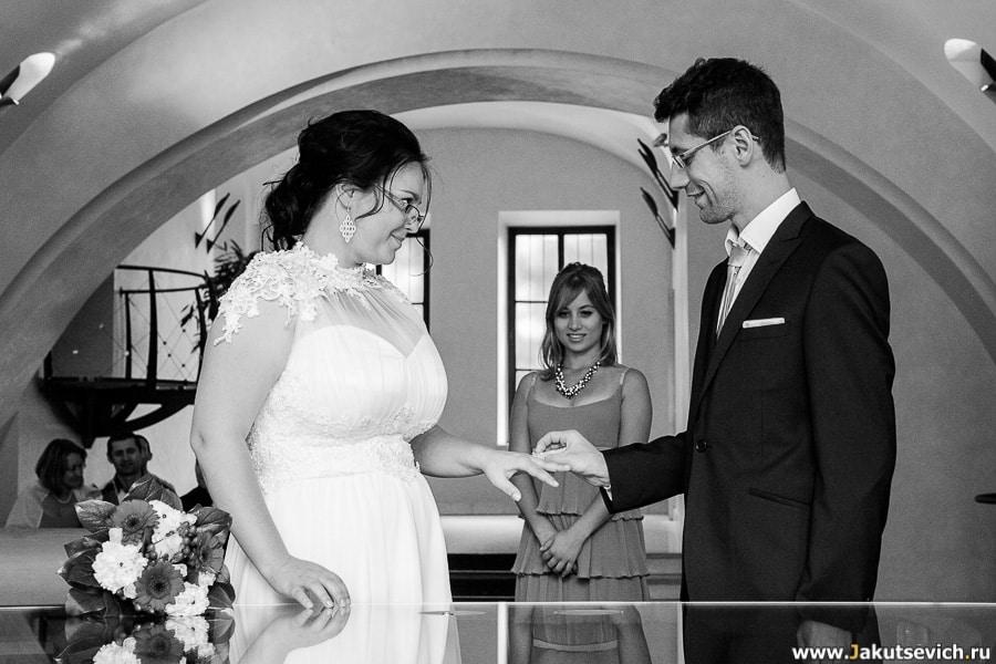 Свадьба израильтян в Праге