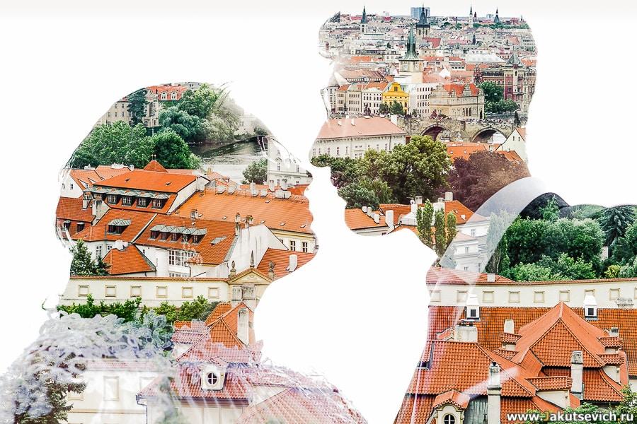 Свадьба в Праге в июне для израильтян Алены и Михаила