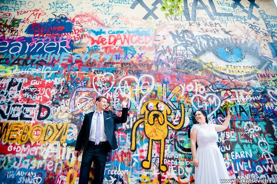 Идеи на свадьбу в Праге