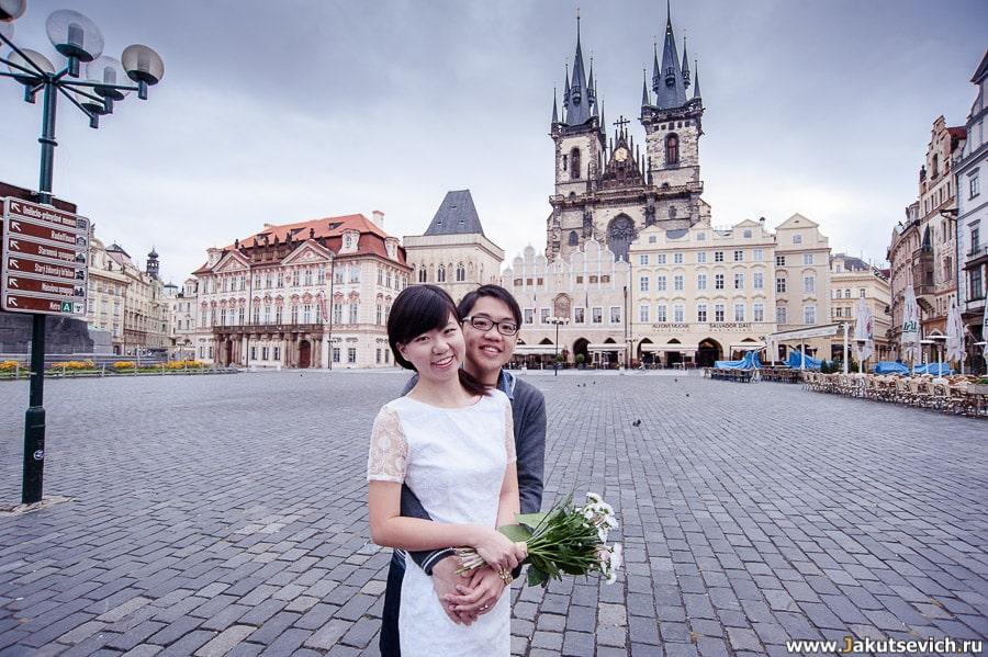 Фотосессия Love Story в Праге