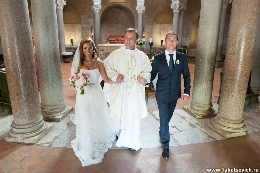Рим свадьба