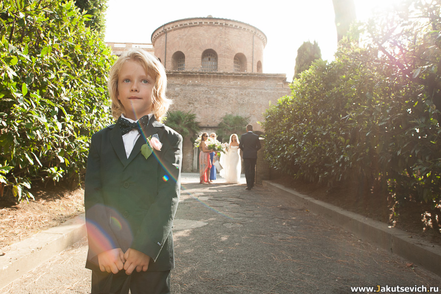 Венчание в Риме в сентябре: фотосессия для Адрианы и Петра
