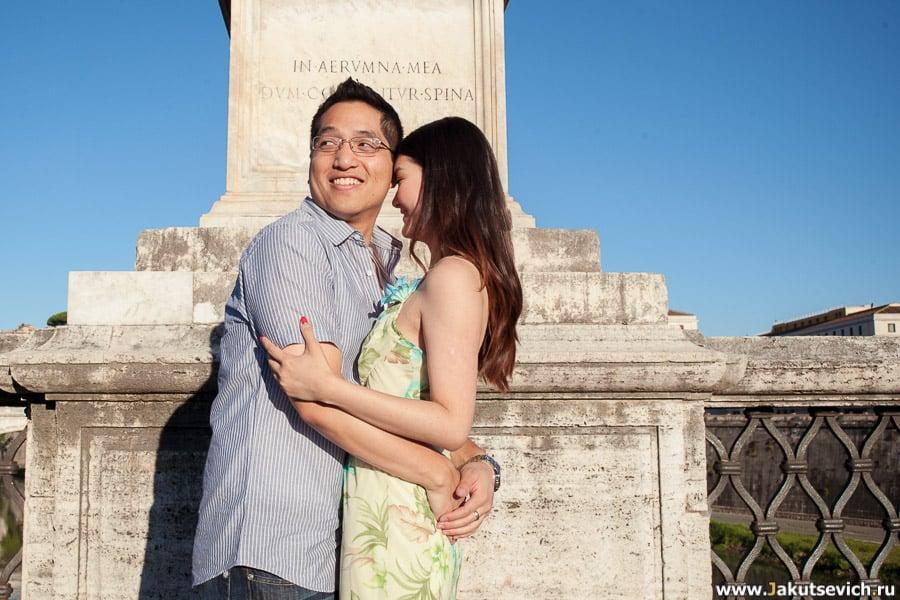 Фотограф в Риме