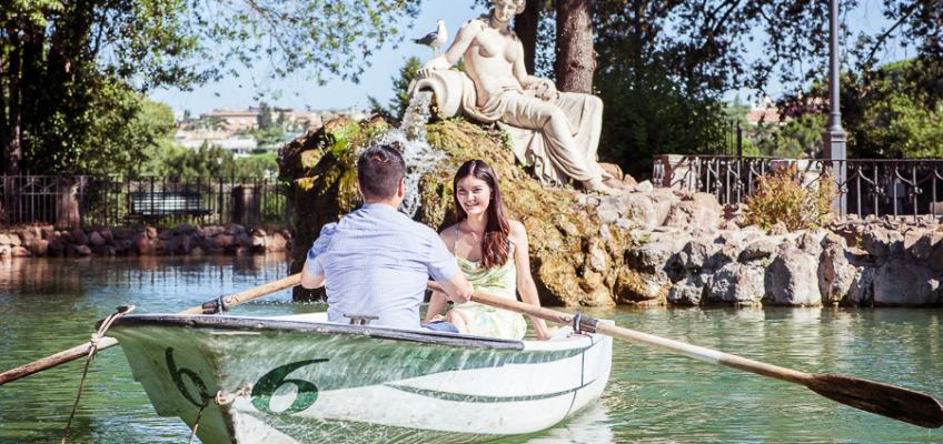 Из Рима с любовью: фотосессия в июле для Венди и Алекса