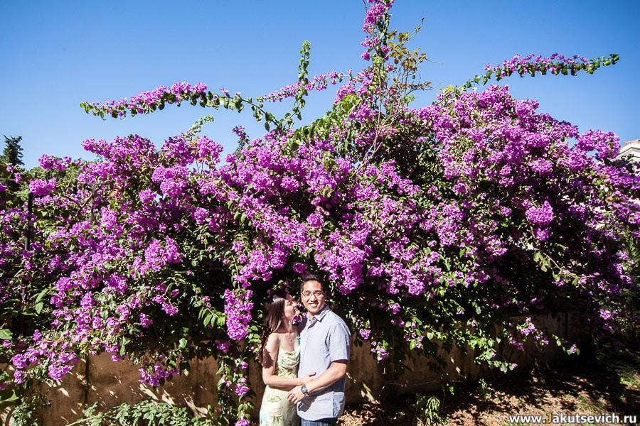 Фотосессия в Италии перед свадьбой