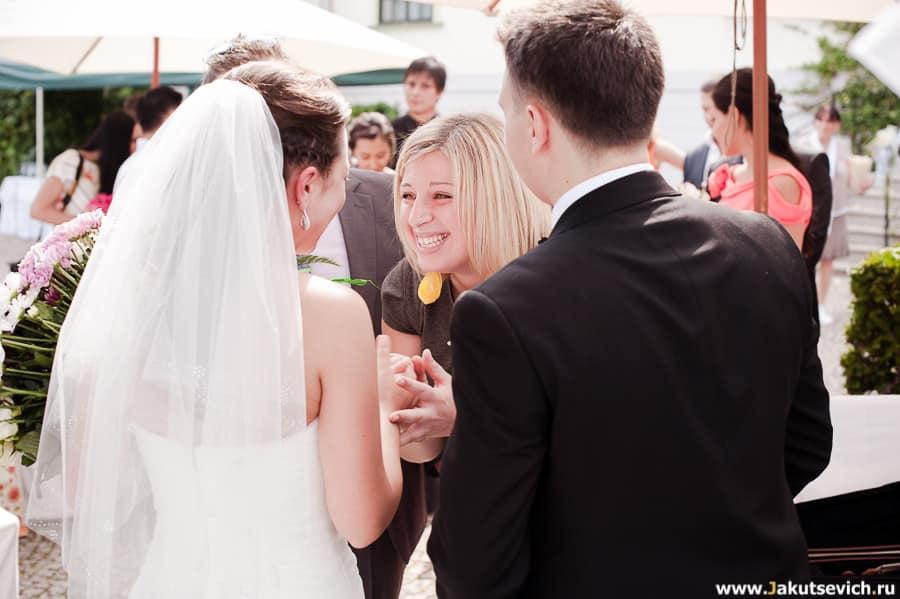 Эмоциональные свадебные фото