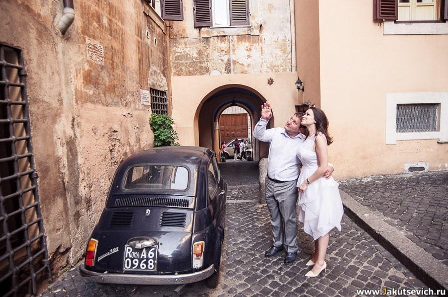 Римские улочки фото
