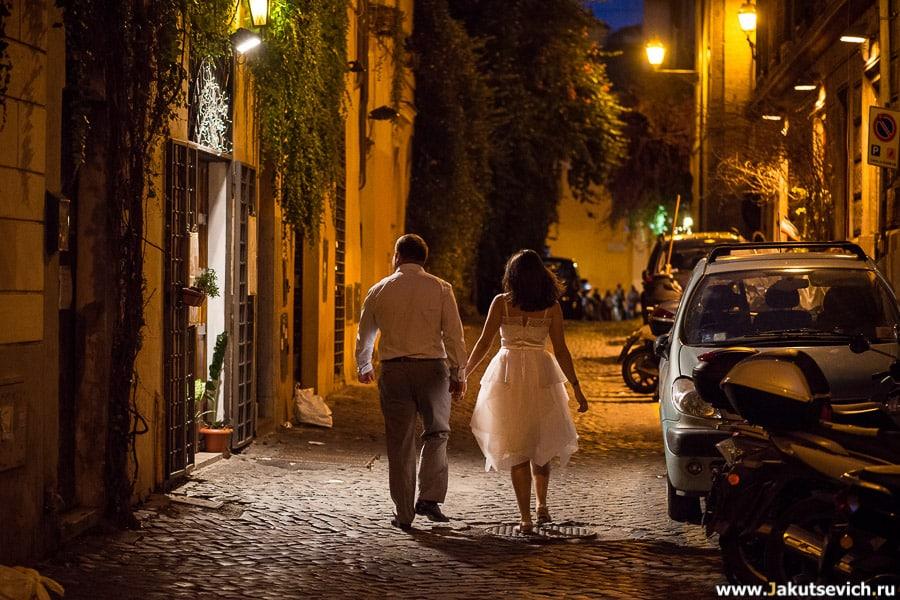 Где гулять в Риме вечером