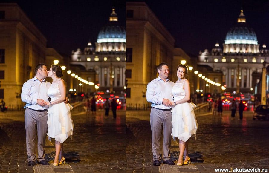Рим ночью