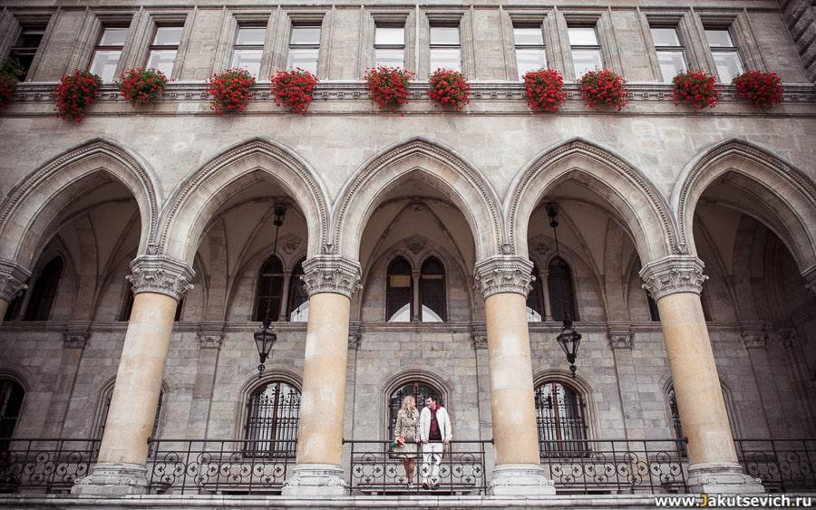 Фотосессия в Вене в сентябре для Елены и Дмитрия