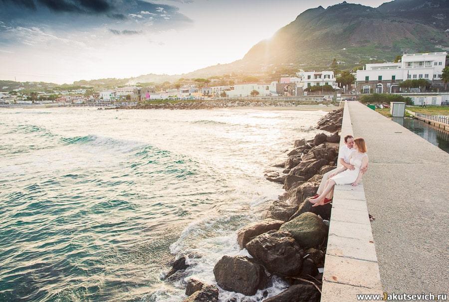 Фотосессия на острове Искья в октябре для Ксении и Антона