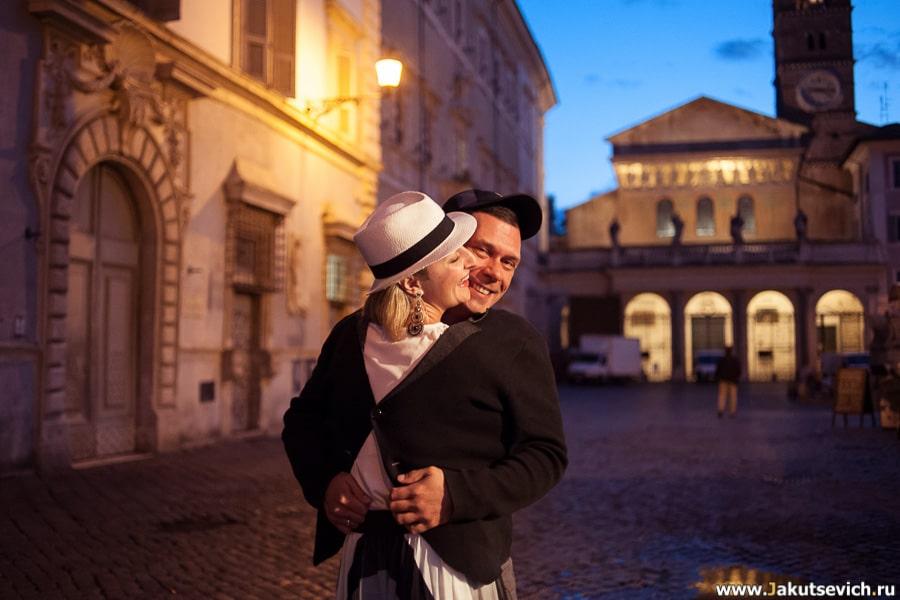 фотосессия-ночью-Трастевере-Рим-Италия-001