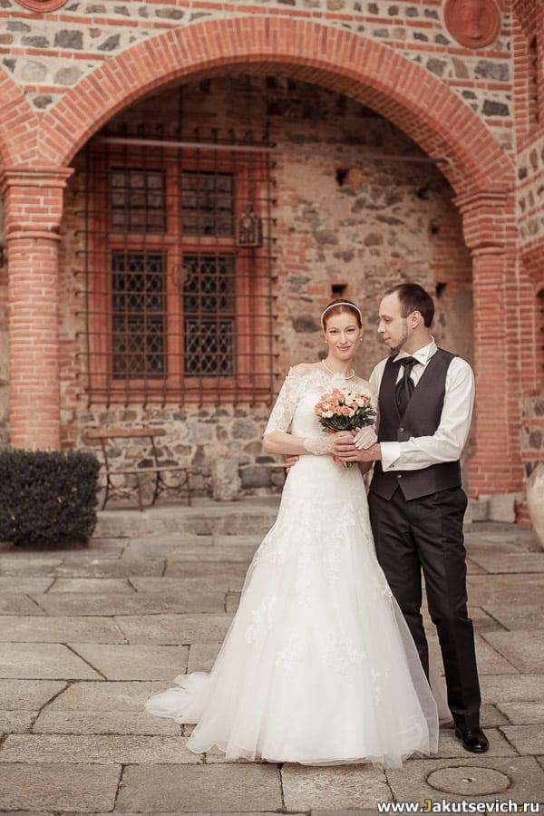 свадебная фотосессия в замке