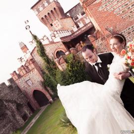 Свадьба в замке Castello di Pavone в Италии Лины и Антона