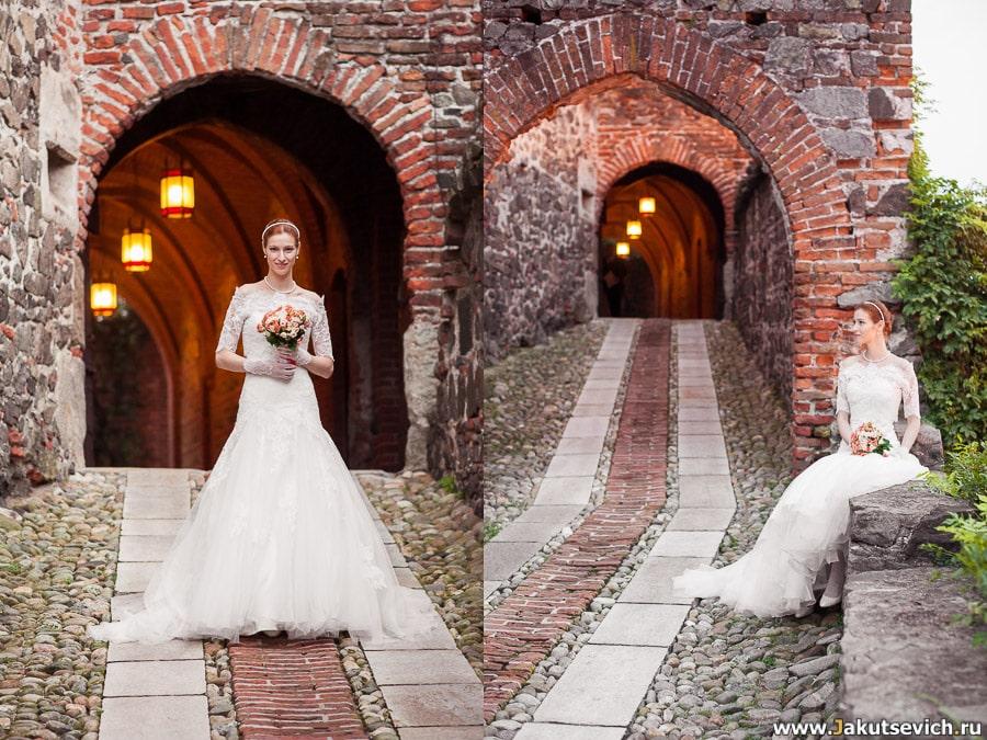фотосессия для невесты в Италии