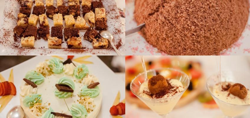 Еда на свадьбе в Италии