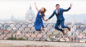 Фотосессия в январе в Риме